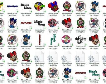 Disney's Minnie Mouse Set 1 Embroidery Design
