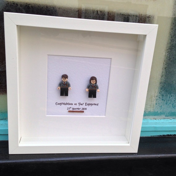 Harry Potter Personalised Shadow Box Frame, Wall art gift for Best ...