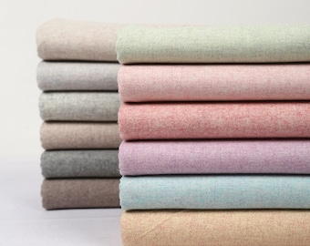 1/2 Yard / 17.7 inches, Warm Soft Solid Cotton Wool Felt Fabric, 59 inch / 150cm Width