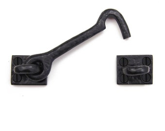 "4.5"" Iron Cabin Hook - Solid Cast Iron"