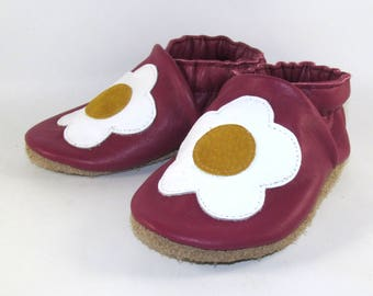 Soft Sole, Leather Baby Shoes, Baby Moccs, 18 to 24 Month