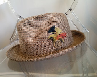 Vintage Hatters Union Fedora - brown