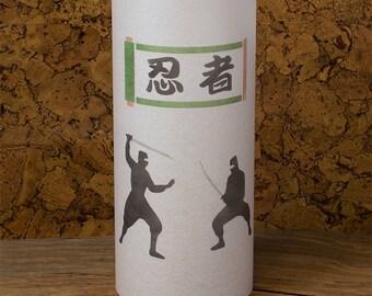 Ninja warrior lamp - Ninja warrior japanese lamp