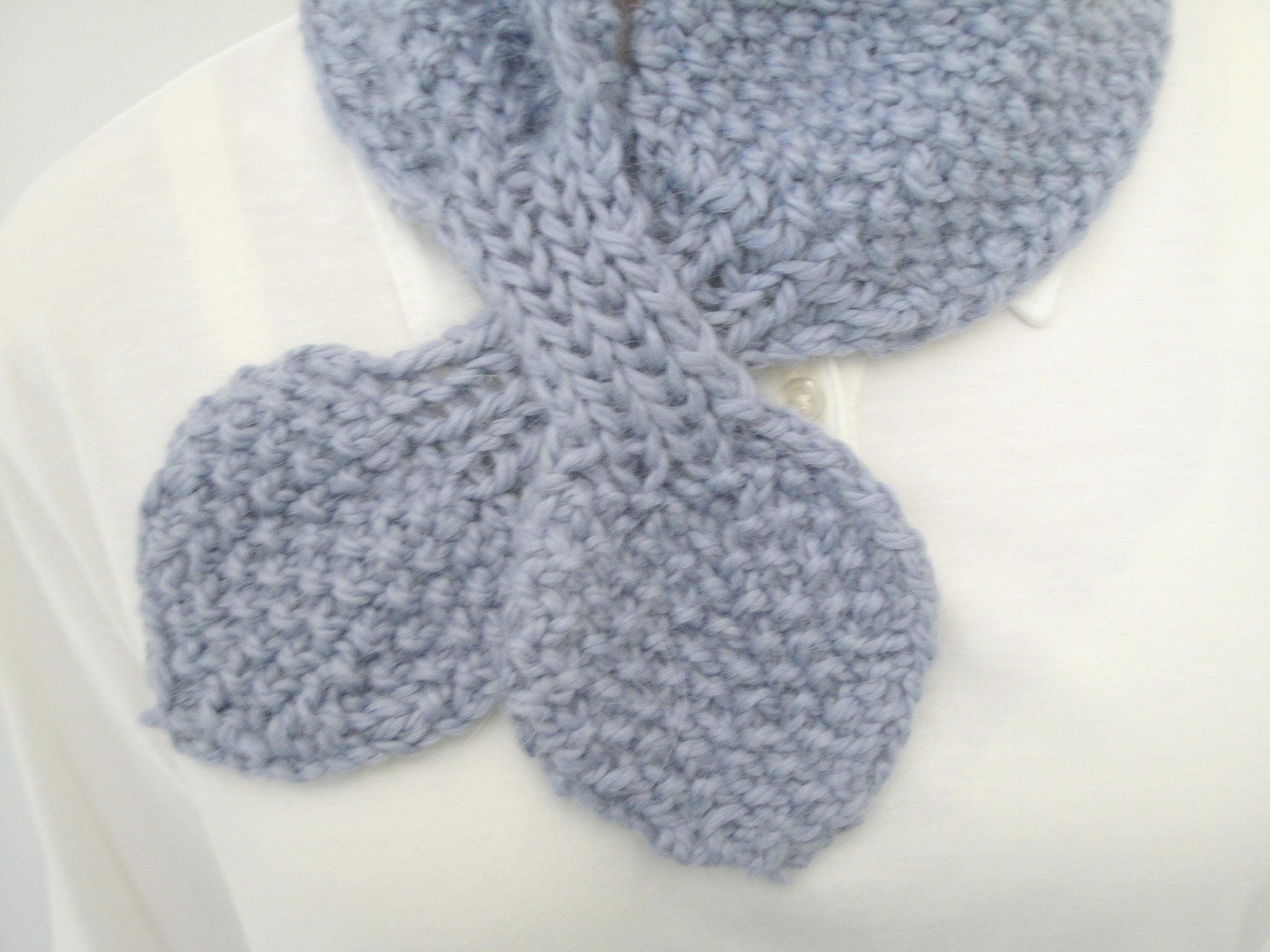 Cozy Ascot Scarf, Knitting Pattern, Quick & Easy, Chunky Yarn, Neck ...