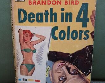 Vintage 50s Paperback Mystery