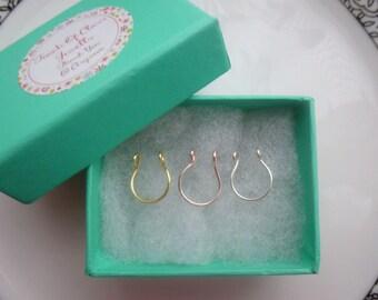Fake septum Ring Set.