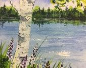 Birch Tree, Maine Origina...