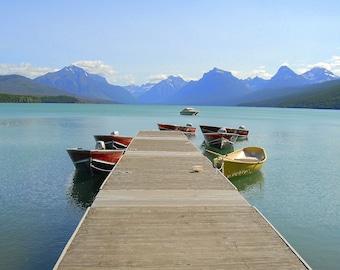 Glacier National Park, boat