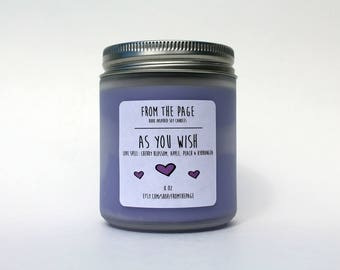 As You Wish Soy Candle - 8 oz