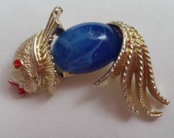 Vintage Jelly Belly Fish Pin