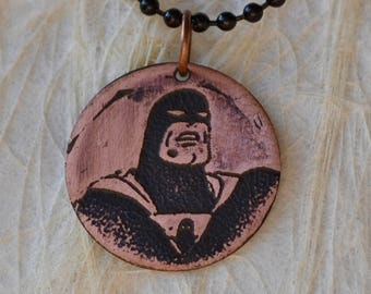 Space Ghost Pendant