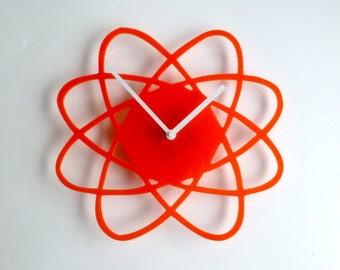 Objectify Atom Outline Wall Clock