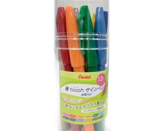 Pentel Fude Touch Pen Set