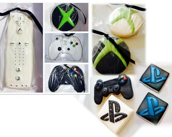 Gaming Cookies (12) Xbox, Wii, Playstation Video Games