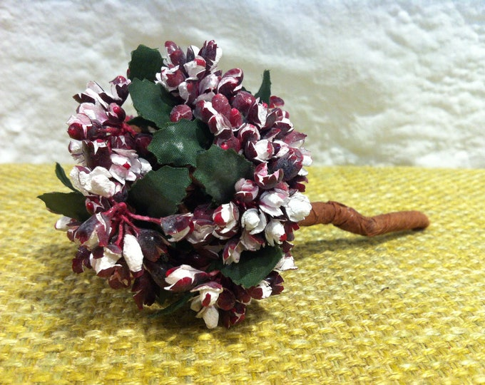 Vintage Posy bouquet bouquet of flowers Handmade miniature dolls houses or decoration for all kinds of
