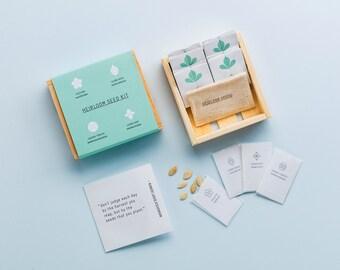 Basic Heirloom Seed Kit