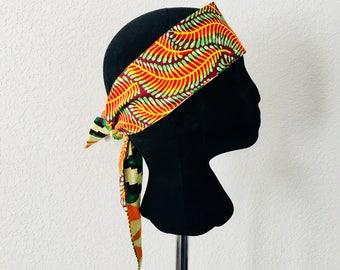 Head Band - African - Band - Greenery