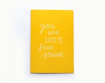 100% Sunshine Card
