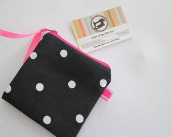 HALF PRICE SALE Spotty Coin  Purse