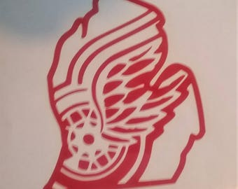 Michigan Wings decal