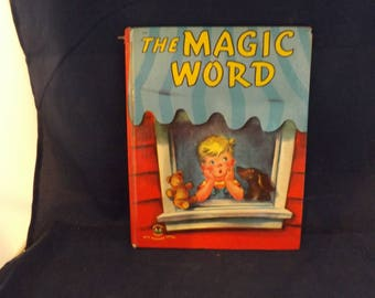Wonder Books The Word Book With Washable Cover