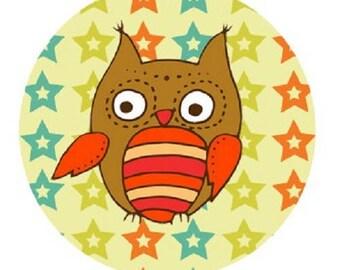 OWL 20mm star background