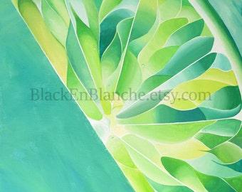 Lime Art Print / Green Lime Slice / Citrus Art Print / Fruit Art / Lemon Art / Food Art / Kitchen Art / Restaurant Art / Zesty Lime / Lemons