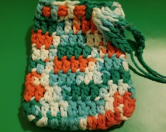 Crochet soap saver. ready to ship!!