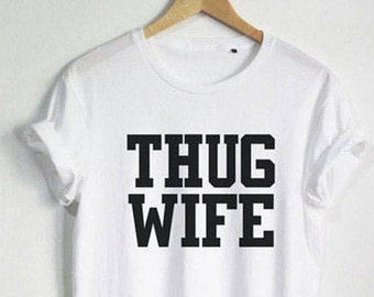 Thug wife tshirt/ Mommy wife life is beatiful t shirts/ urban wife urban mother tshirtl