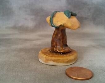 Mushroom with vine