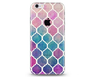 Think Its Mosaic - iphone 6s case, clear iphone 6 case, clear iphone case ,slim iphone cases