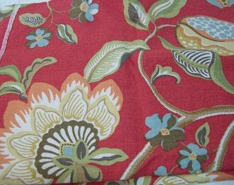 Braemore Sangria Scarlet Home Decor Fabric 1 Yard
