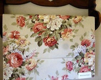 Vintage Ralph Lauren Floral Fabric Sample