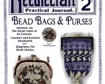 Needlecraft Practical Journal (92) c.1911 - Bead Bags and Purses Instruction Book