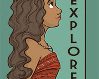 Explore - She Series Postcard (Item 09-419)