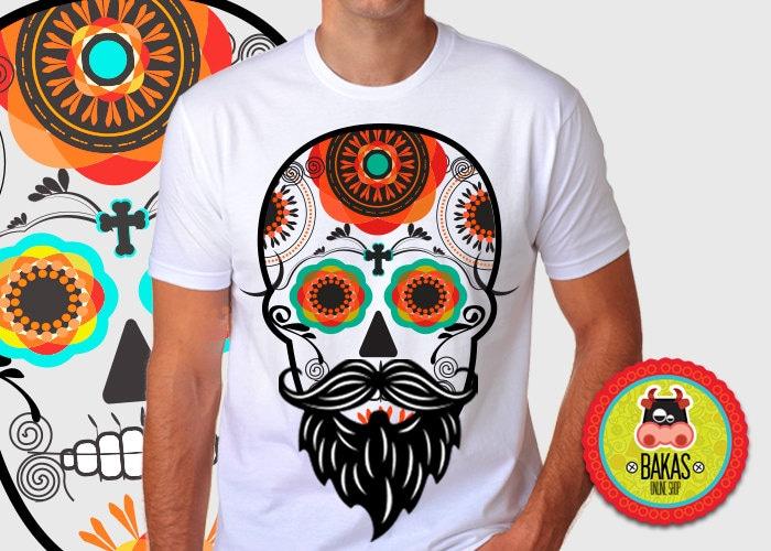 ropa day of the dead skull sugar skull clothing