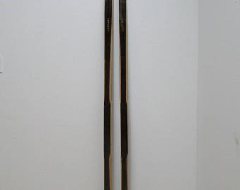 Vintage Wood Tur-lett Snow Skis  B