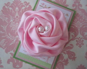 Girl hair clips - girl barrettes - flower hair clips