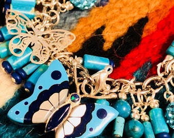 The latest charm bracelet Jewelry is sure to please anyone that loves these collectible vintage Native American