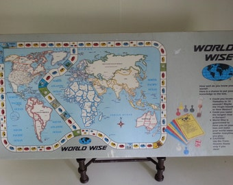 Worldwise Geography Game 1986 Worldwise Inc.