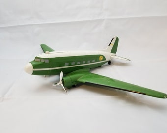 John Deere Die Cast Airplane Coin Bank Limited Edition #N1326