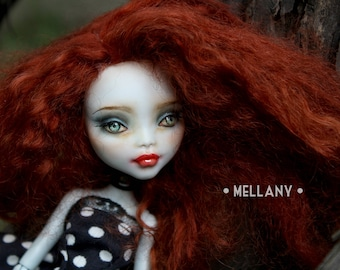 Reserved for Lea | Mellany - OOAK Monster High Repainted Art Doll