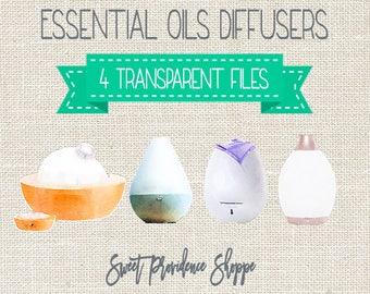 Essential Oil Diffusers, Essential Oil Clip Art, Essential Oil Diffuser Clipart, Diffuser Clip art, Oil clipart, Instant Download