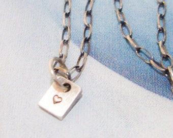 Little Love Necklace in Sterling Silver