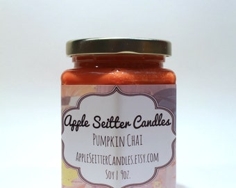 All Natural Pumpkin Chai Soy Candle