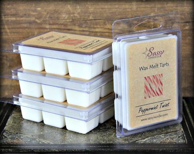 PEPPERMINT TWIST   Wax Melt Tart   Sassy Kandle Co.