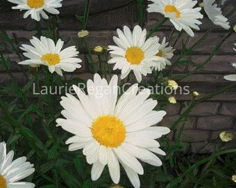 Instant download Mom's Daisies