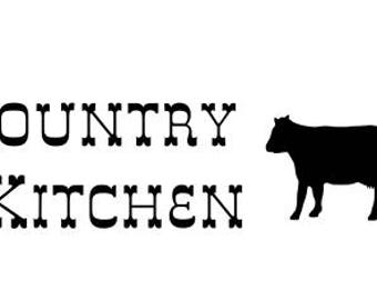 Country Kitchen SVG