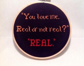 Hunger Games Quote Hoop Art, Geeky Pop Culture Gift, Book Nerd