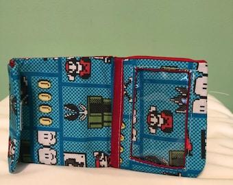 8-bit Mario Wallet